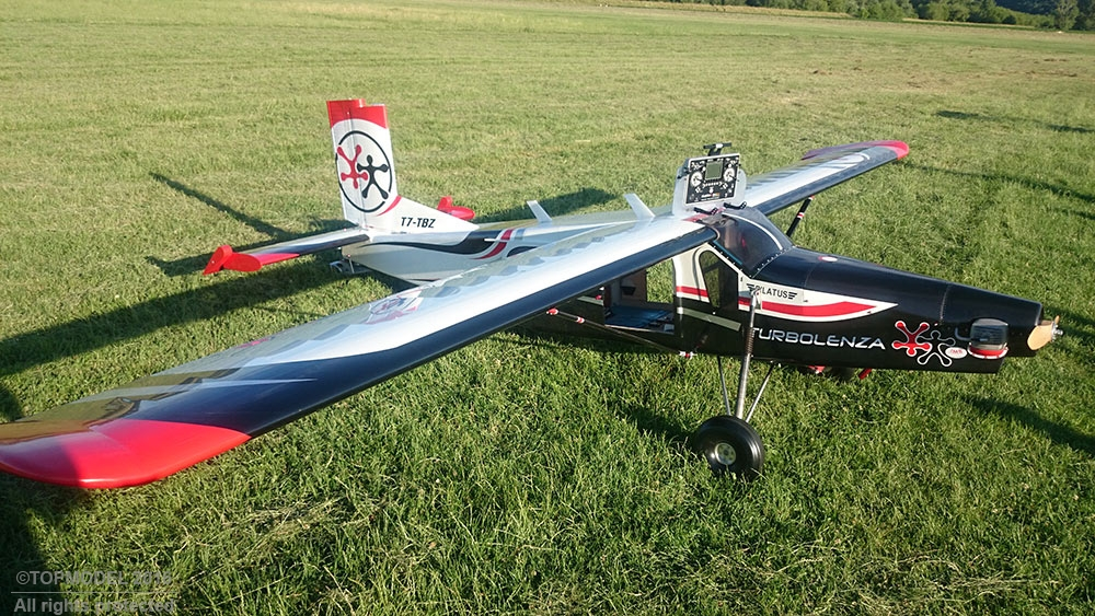 PILATUS PC-6 Turbo Porter 33% 5.290 mm