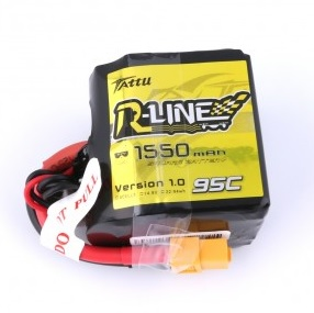Battery LiPo TATTU R-Line  1550 mAh 4S 14,8V 95C