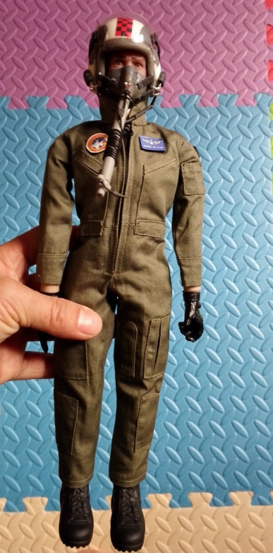 "Piloto Jet ""Green"" 1/6 Scale"