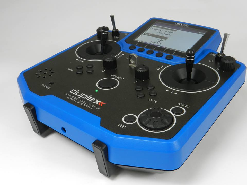 Transmitter JETI Duplex DS-12 EX Multimod BLUE
