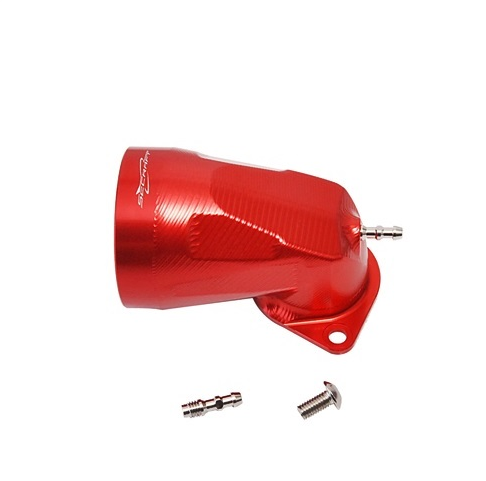 Suction funnel for carburetor 90D-L (red)