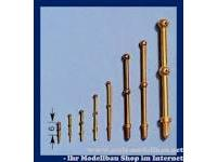 Pile railing 2D/16 mm (10 pcs)