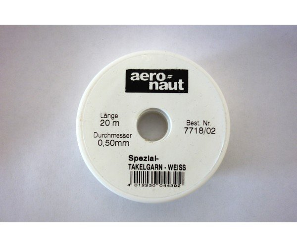 Hilo blanco 0.50 mm x 20m