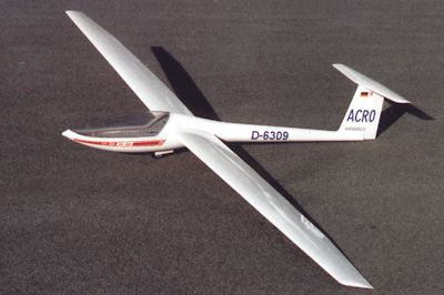 DG-303 ACRO 3750 mm (Airworld)