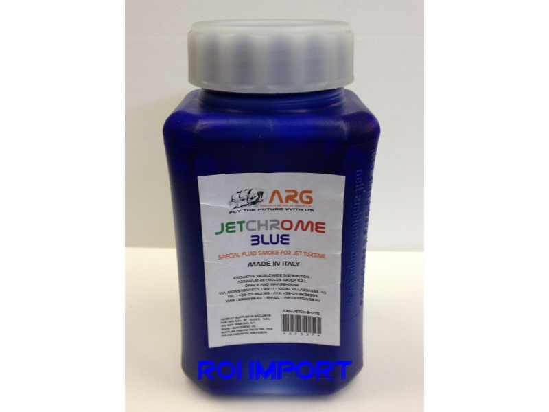 BLUE Colored Liquid smoke for turbine 0.75 l