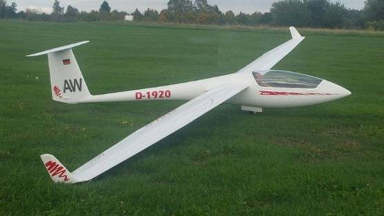 ASW 20 5000 mm with winglets (Airwold)