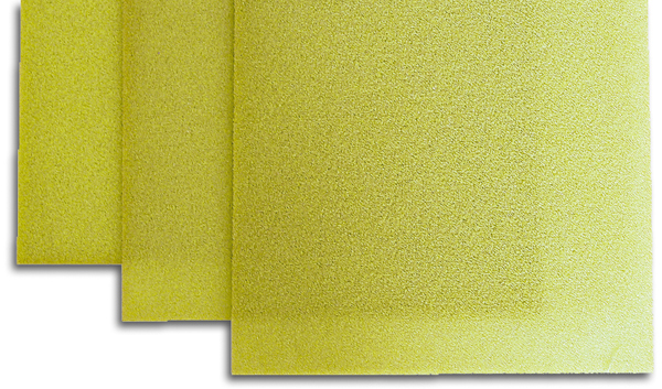 AIREX® Sheets C 70.55 (YELLOW) 1200x550x1.2 mm