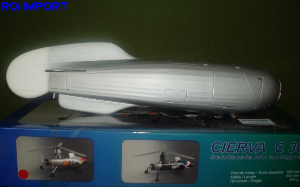 Cierva C30 Body Spain
