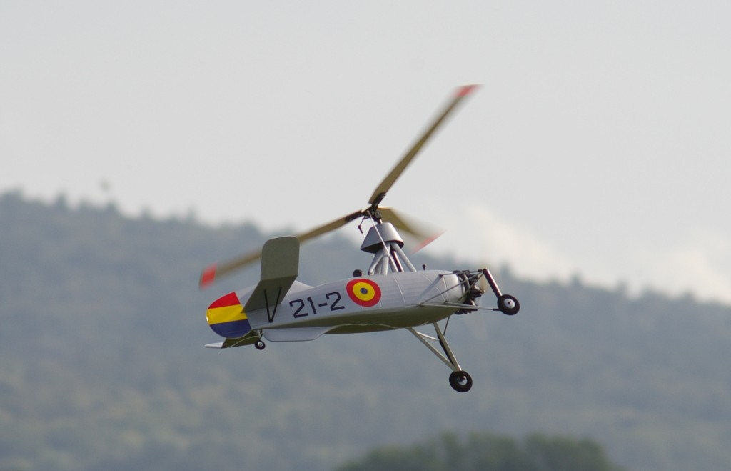 Autogyro Cierva C30 Spain, ROI Import