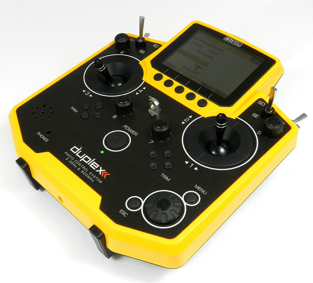 Transmitter JETI Duplex DS-12 EX Multimod YELLOW