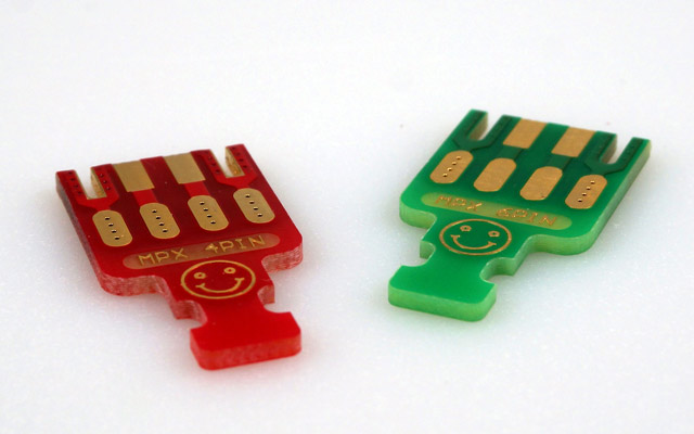 "MPX PCB ""4 Pins"", 5 pieces"