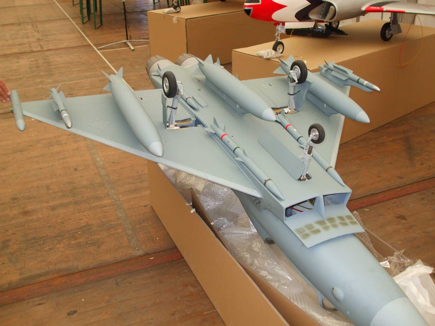 EUROFIGHTER EF-2000, <b>Kit missili</b>