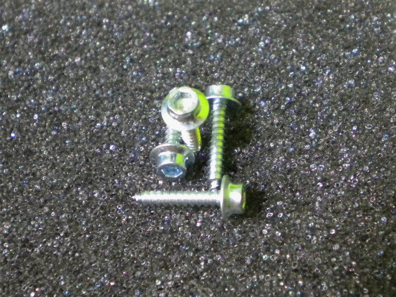 Servo M2x9/16 screw (4 pcs)