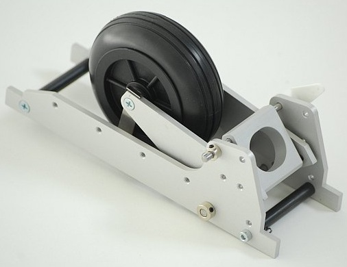 Retract undercarriage for gliders 5-10 Kg 3.3-3.7/1 (with wheel