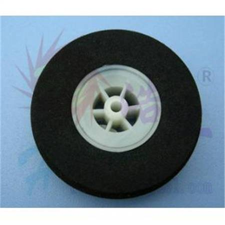 Super Light Wheels (Sponge Tyre) Ø 60mm x 19 mm (2pcs) axis Ø 3.