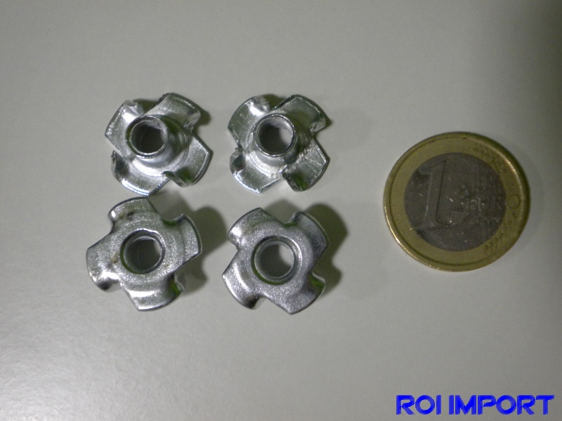 Blind nut M6 (4 pcs)