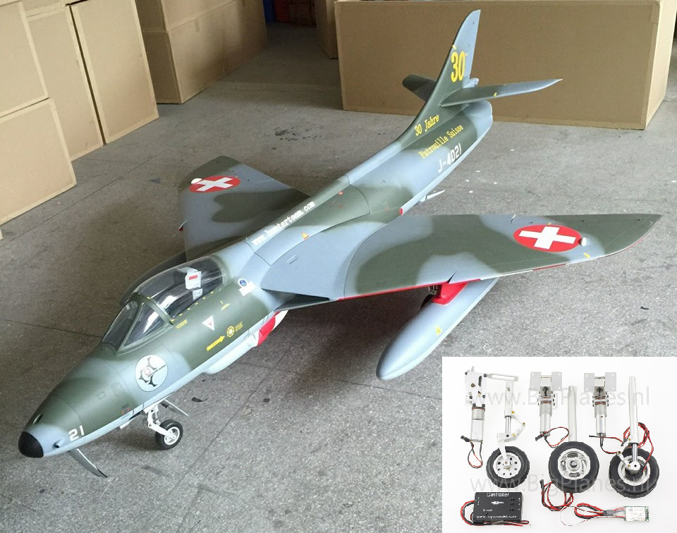 HAWKER HUNTER 1:5,8  (1.770 mm)