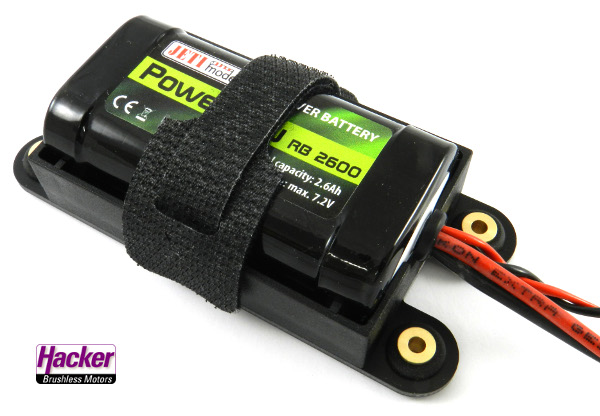 Battery RX JETI LiIon RB 2600 7.2v