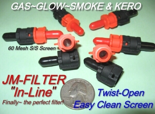 Glow/Gas/Smoke/Kerosene filter