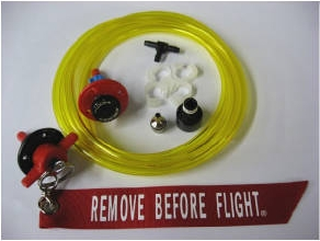 Gas or Kerosene Refueling Dry-Break Ports w/Return Line
