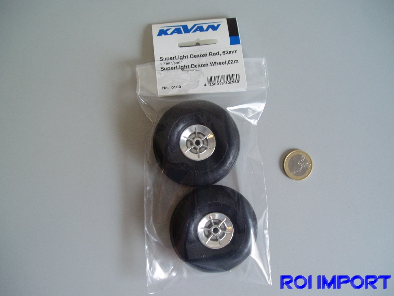 Superlight deluxe wheel 62 mm (2 pcs)