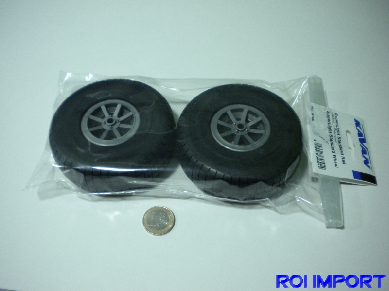 Superlight standard wheel 100 mm (2 pcs)