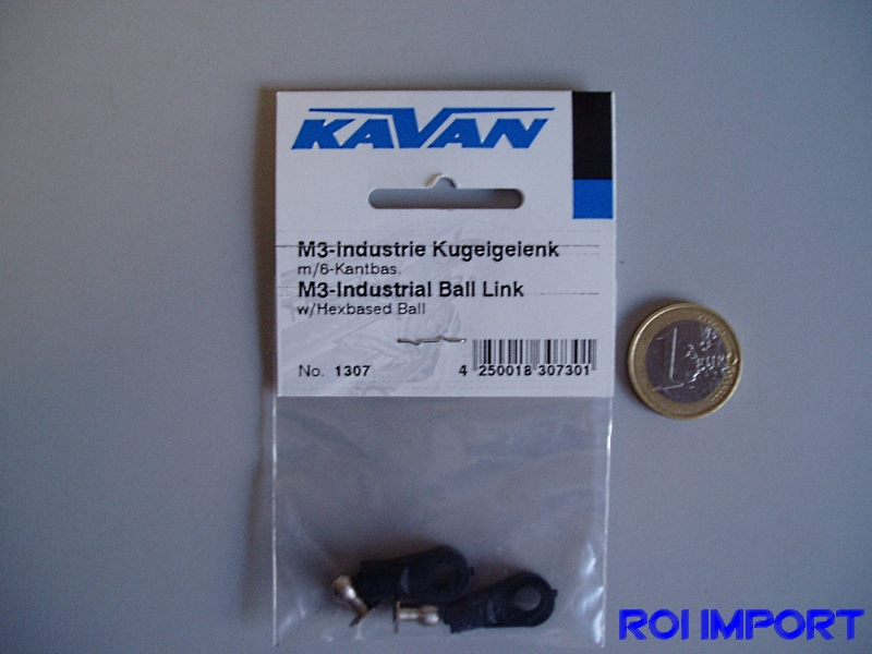 M3 INDUSTRIAL ball link (2 uds)