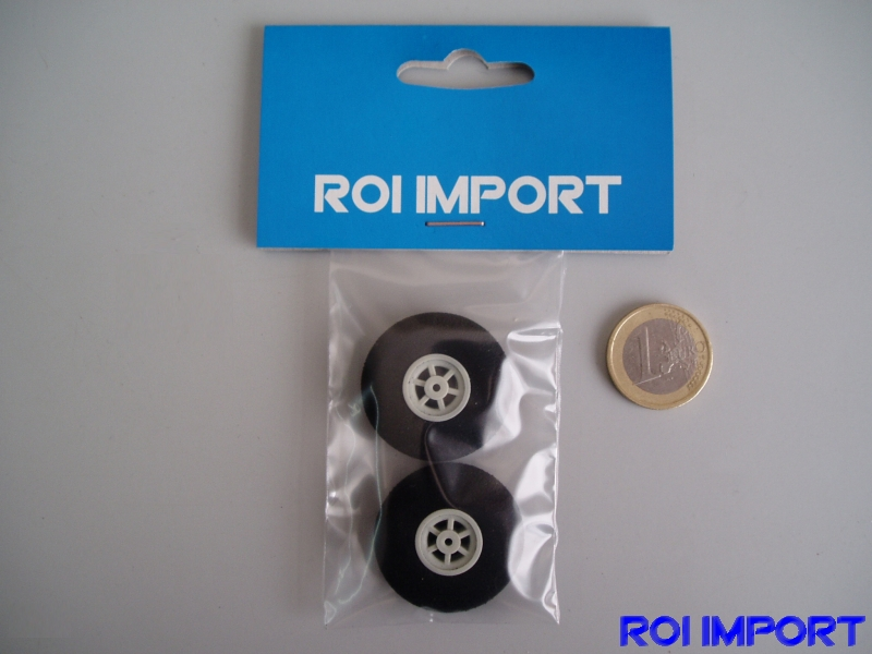 32x9 mm foam standar KOVO wheel (2 pcs)