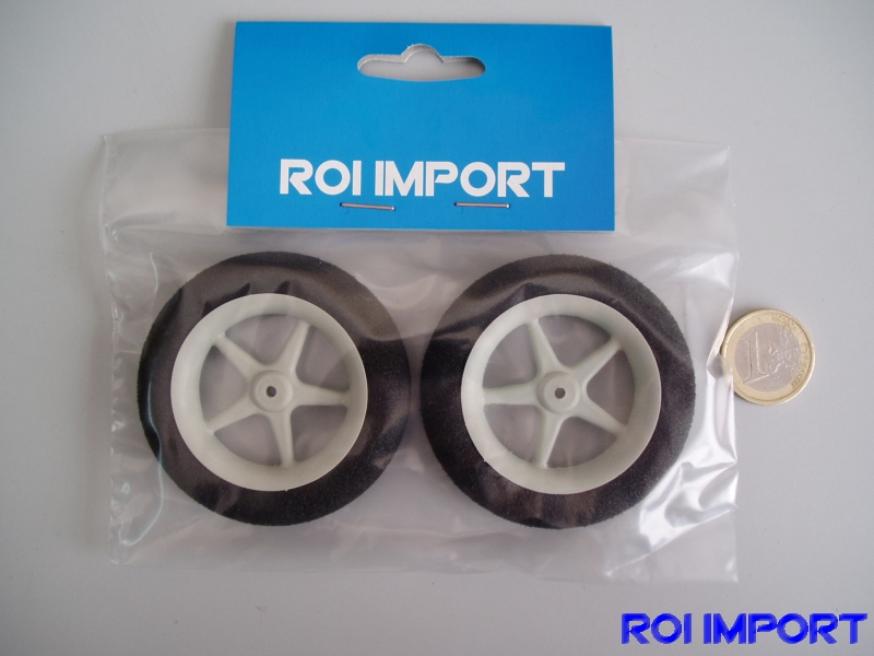63x12 mm foam special light KOVO wheel with radius (2 pcs)