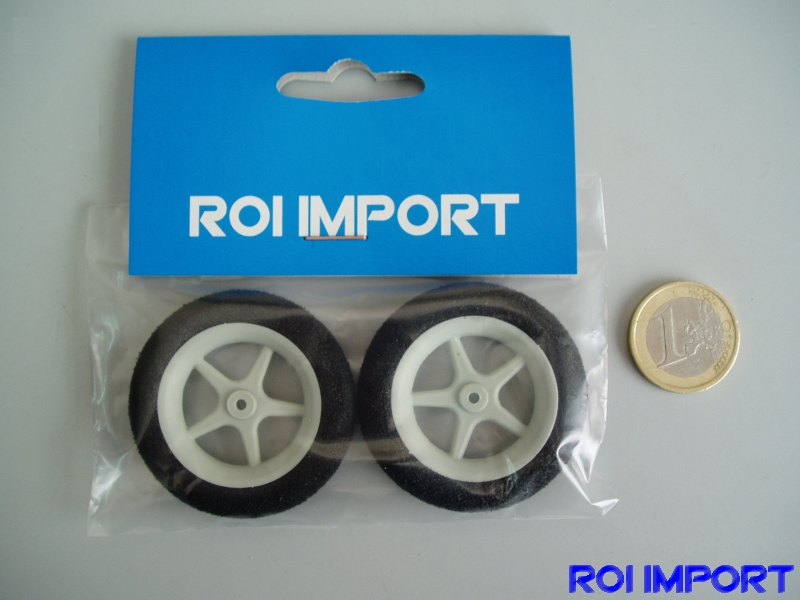 45x9 mm foam special light KOVO wheel with radius (2 pcs)