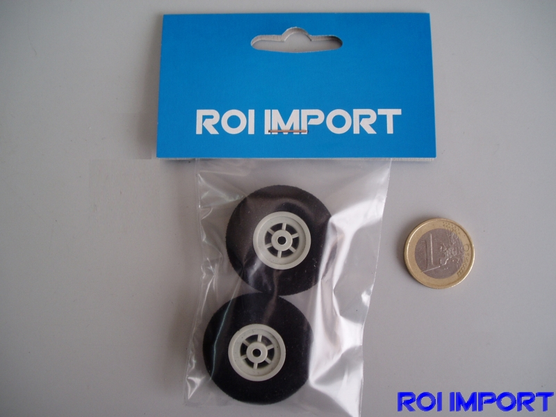 35x14 mm hard foam KOVO wheel (2 pcs)