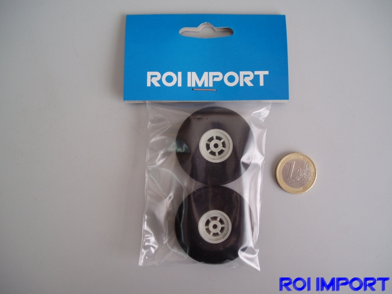 43x14 mm hard foam KOVO wheel (2 pcs)