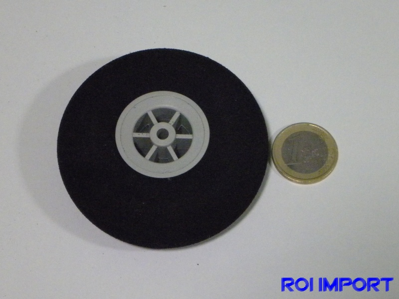 73x24 mm hard foam KOVO wheel (2 pcs)
