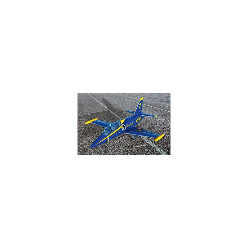 L39 Mini 1.43m BLUE ANGELS ARF +elec.L.Gear + 3 Microservos