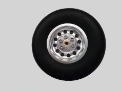 2.5 inch aluminium core wheel  (1 pcs)