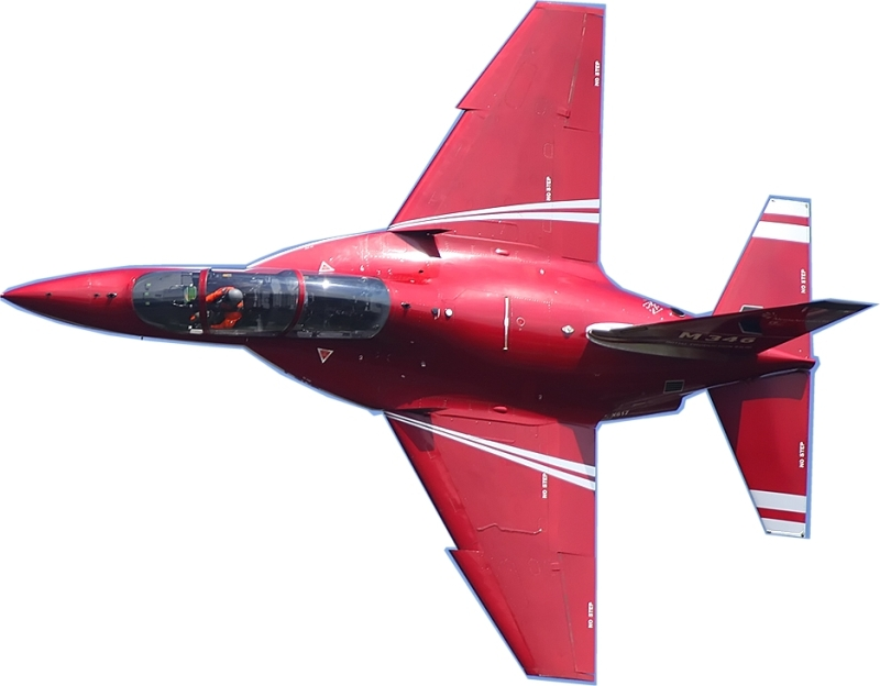 AERMACCHI M346 1:5 Red