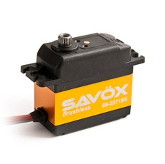 Savox Highvoltage Brushless Servo SB-2272MG (Tail rotor)