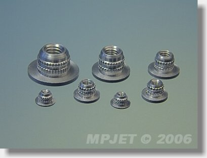 Nut for mounting M3 (10 pcs)