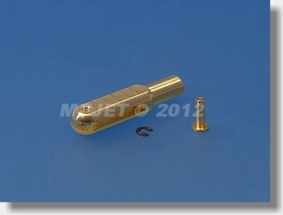 Kwik link AL M2 L:23 mm (6 pcs) + Pin Ø 1,6 mm