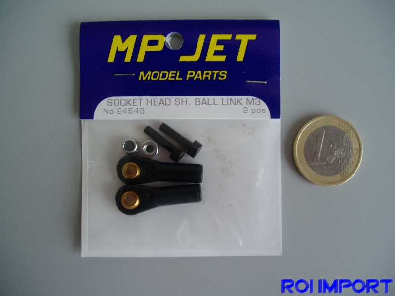 Socket head ball link M3 (2 uds)