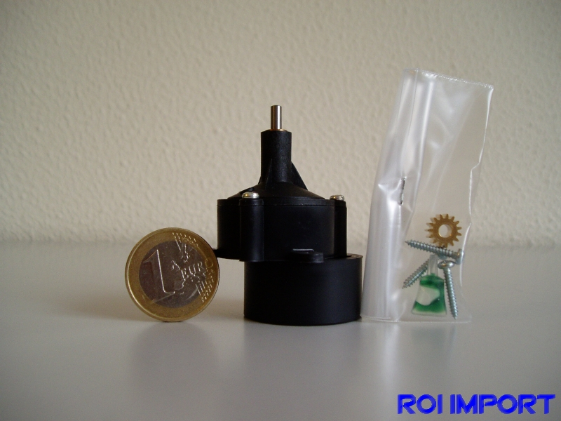 Reductora STD motor 400 eje 2,3mm (4,1:1)