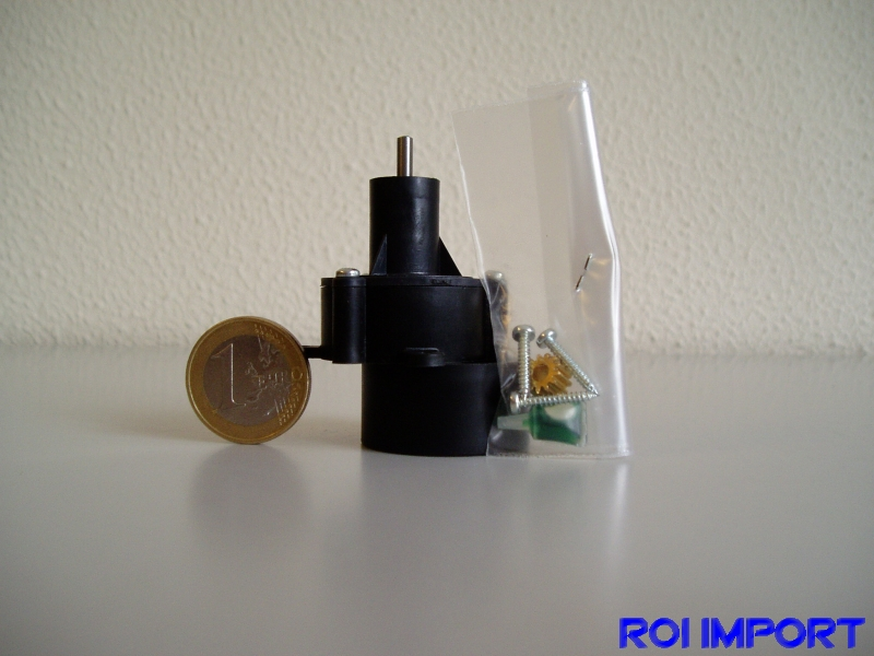 Reductora BB motor 400 eje 2,3mm (4,1:1)