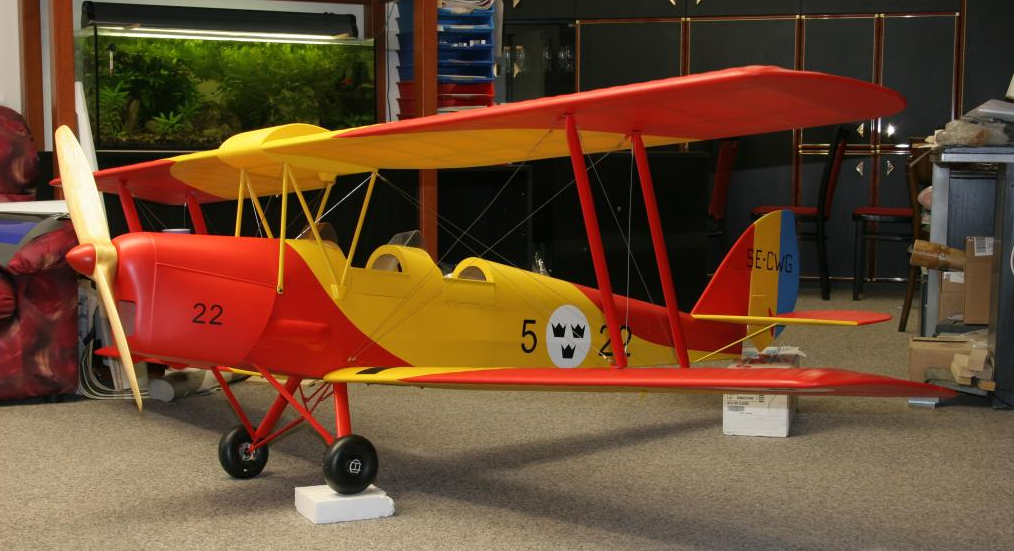 DH82 Tiger Moth ARC Scale 1:2