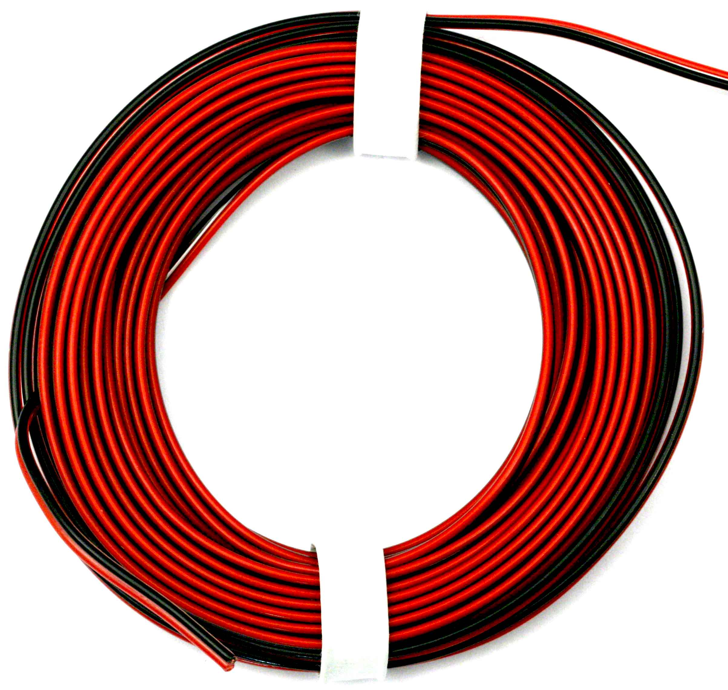 Cabel PVC 2 x 0.25 mm2 (5 m) red-black