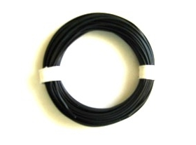 Black silicone 0,25 mm² wire (25 m)