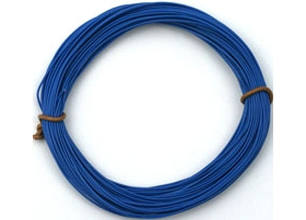 Cable silicona 0,5 mm2 azul (50 m)