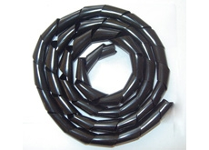 Black spiral protective cover for wires Ø 0,5/50 mm - 25 m