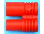 Red 3m5 mm connector holder