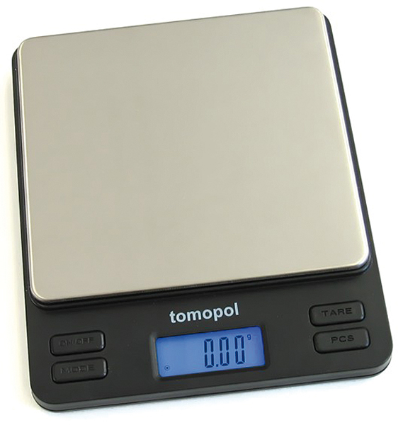 Digital precision scale up to 2000 g