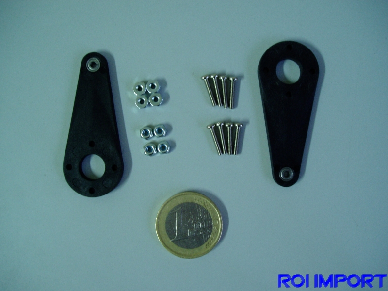 50 mm servo arm with bearing (2 pcs)